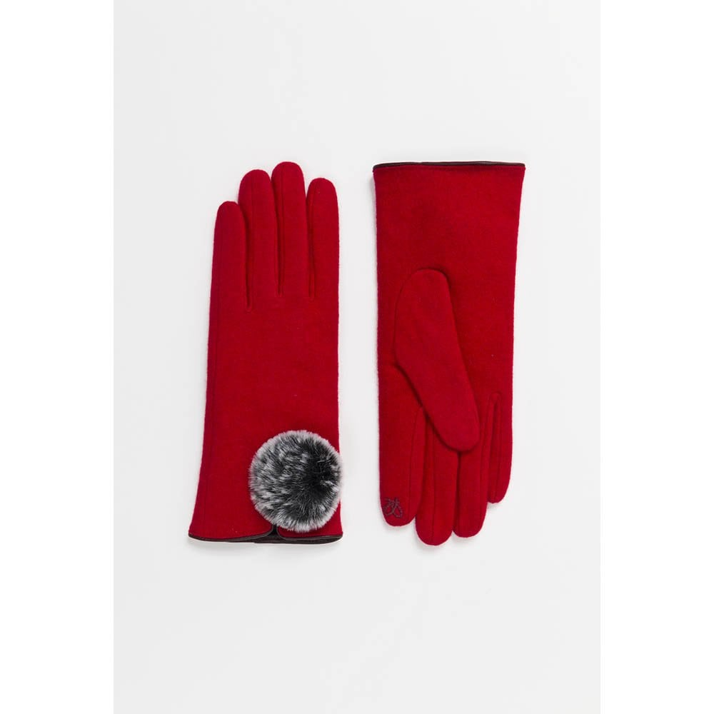 Pia Rossini Red Gloves