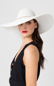 Pia Rossini Romero Hat White ROM00809