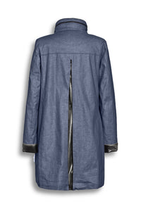 Creenstone Coat -  Rose 1930 - Dark Denim
