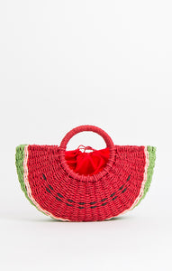Pia Rossini Sandria Watermelon Bag Red SAN01469