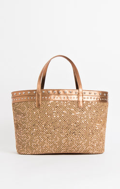 Pia Rossini Selma Tote Bag Gold SEL01344