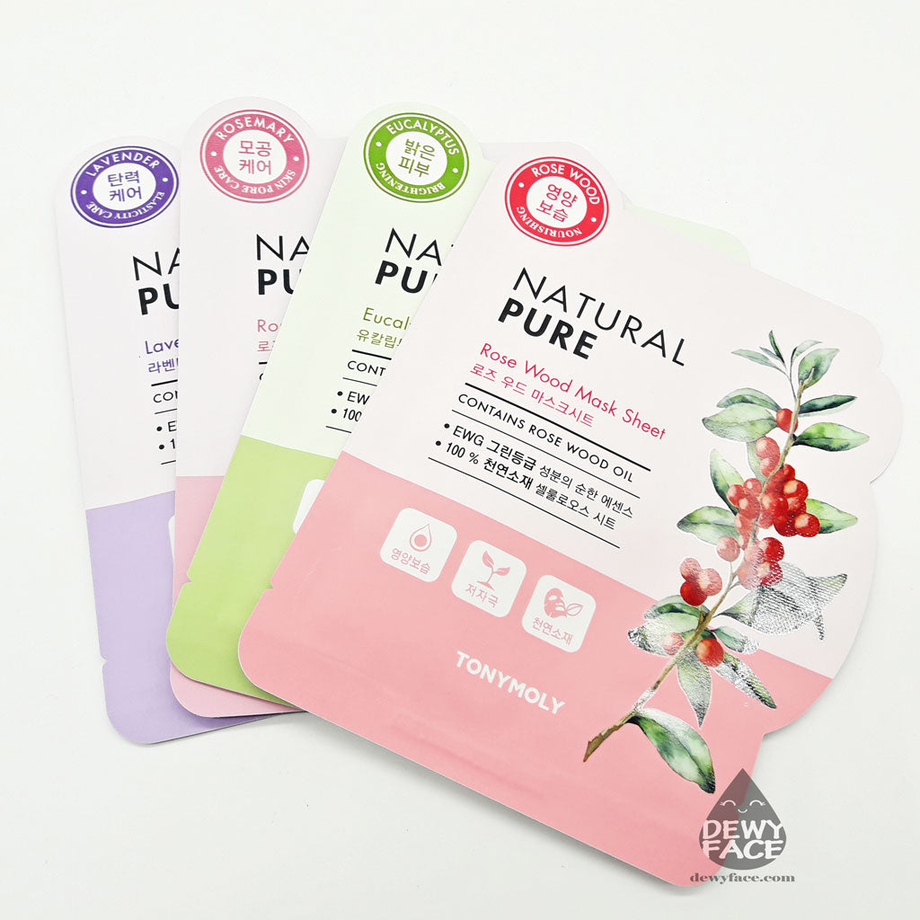 TONYMOLY NATURAL PURE SHEET MASK