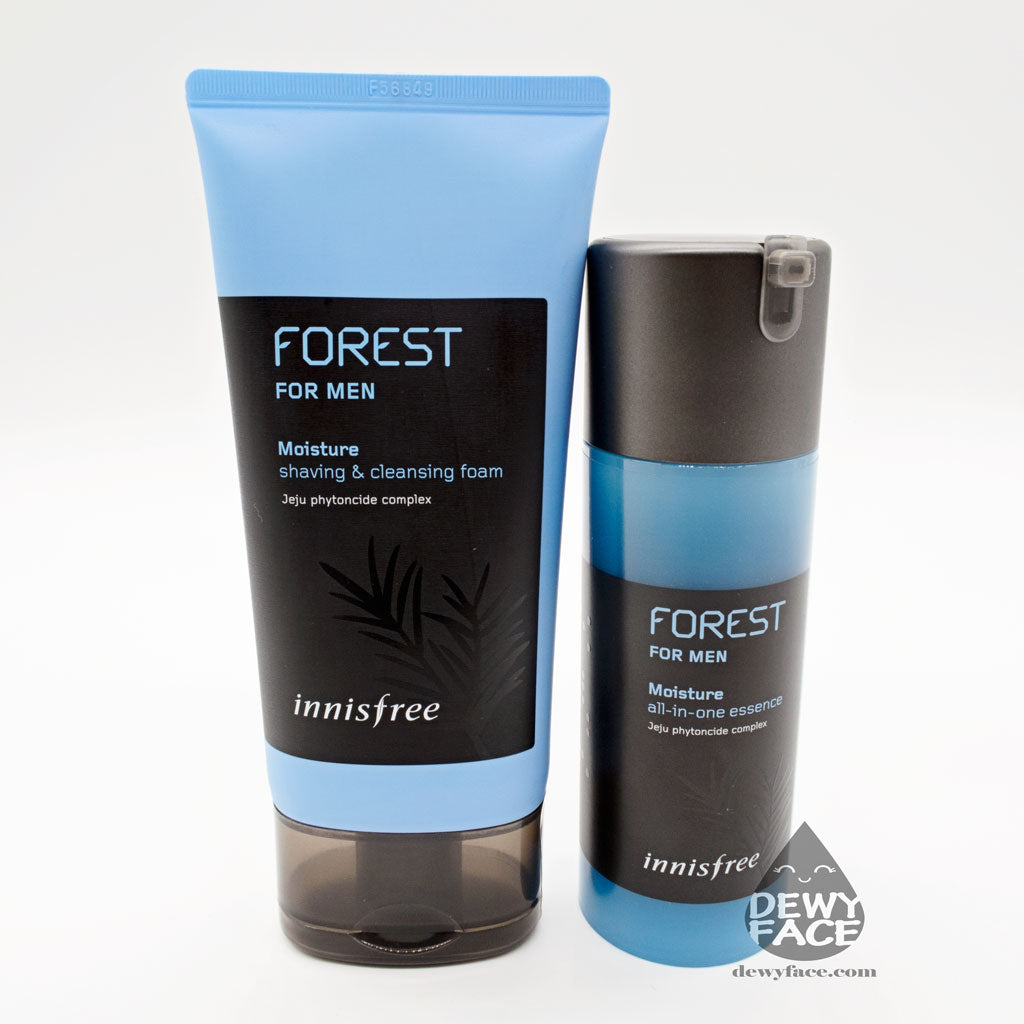INNISFREE Forest for Men set (Cleanser 150ml + Essence 100ml)