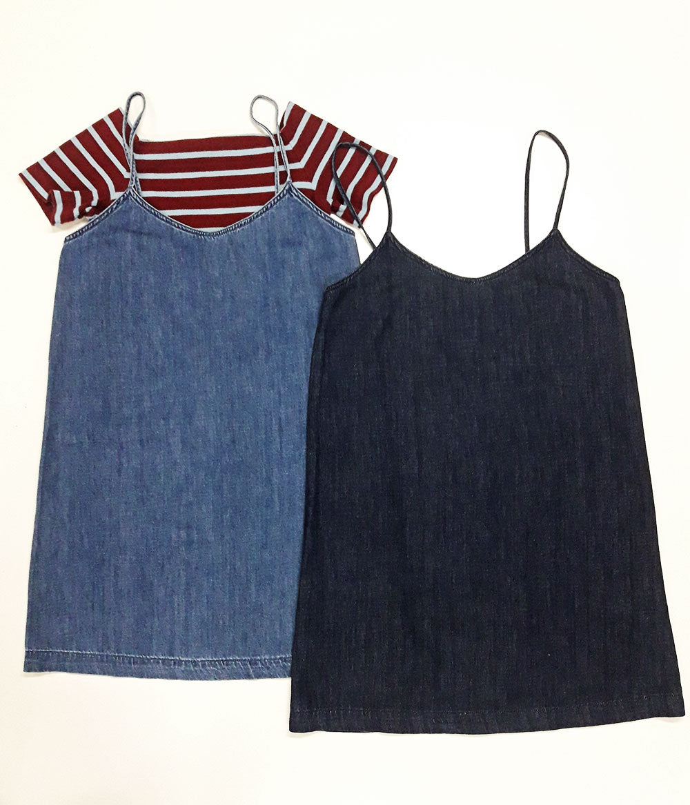 TOPTEN Denim Slipdress