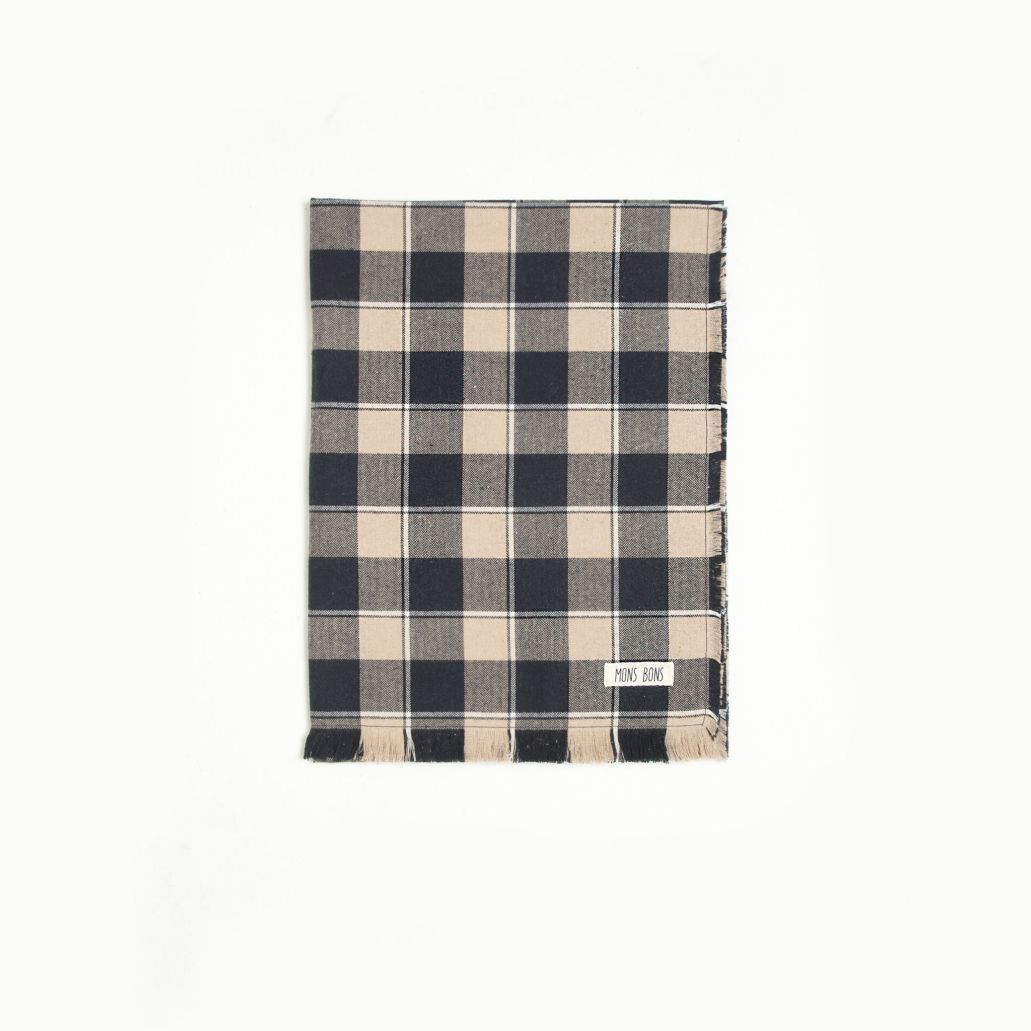 Plaid Scarf - MONS BONS