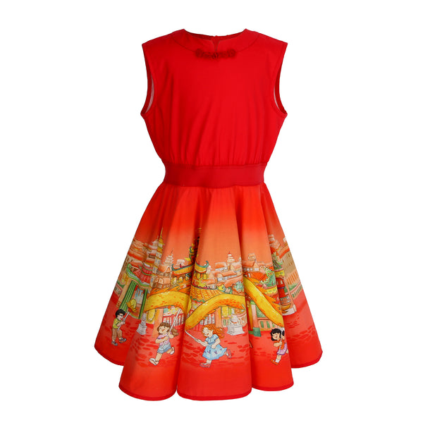 Belle Dress - Dragon Dance
