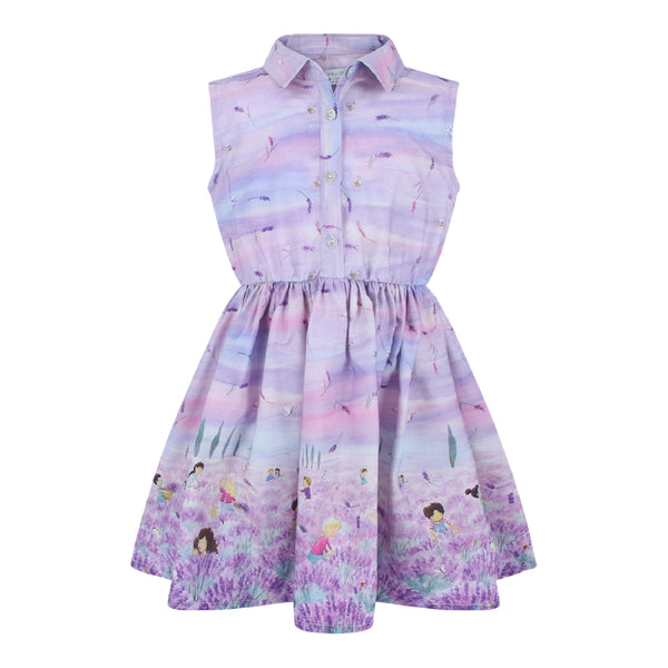 Listi Dress - Lavender Fields