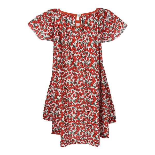 Maxinne Dress - Red Apples