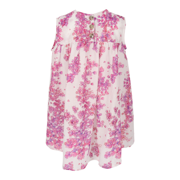 Sol Dress - Bougainvillea Flowers