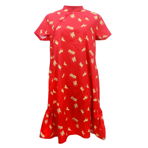 Angel Ladies Dress - Red Ox