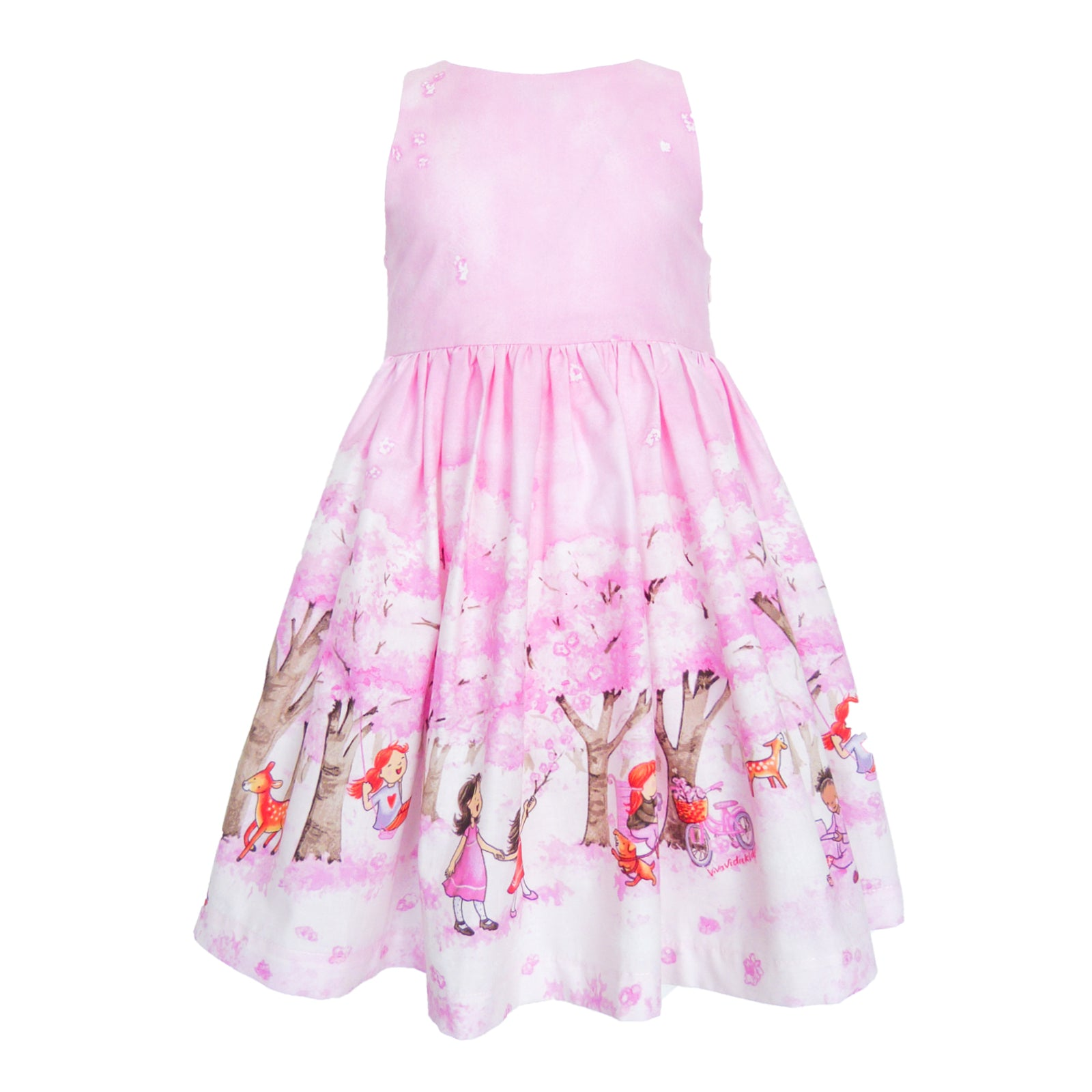 Cadi Dress - Cherry Blossom