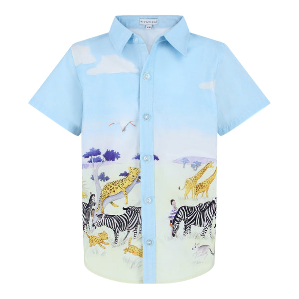 Chris Shirt - African Savanna
