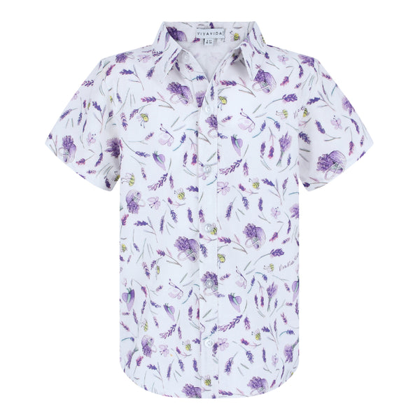 Chris Shirt Boys - Lavender Fields