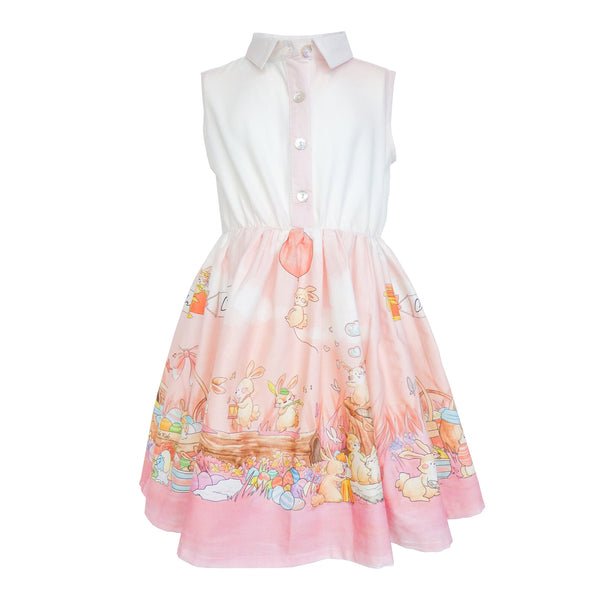 Listi Dress - Easter Bunnies