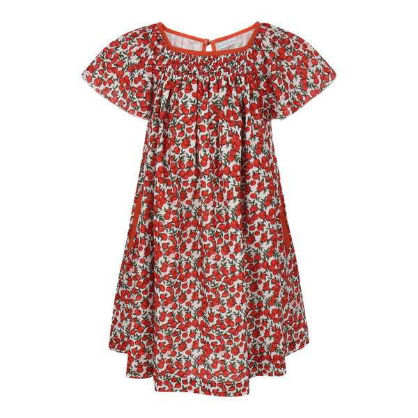 Maxinne Dress Red Apples