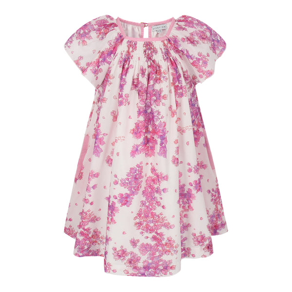 Maxinne Dress - Bougainvillea Flowers
