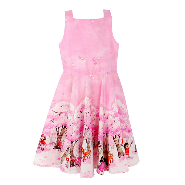Miya Dress - Cherry Blossom