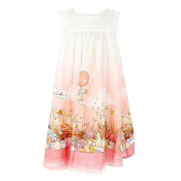 Sol Dress - Easter Bunnies