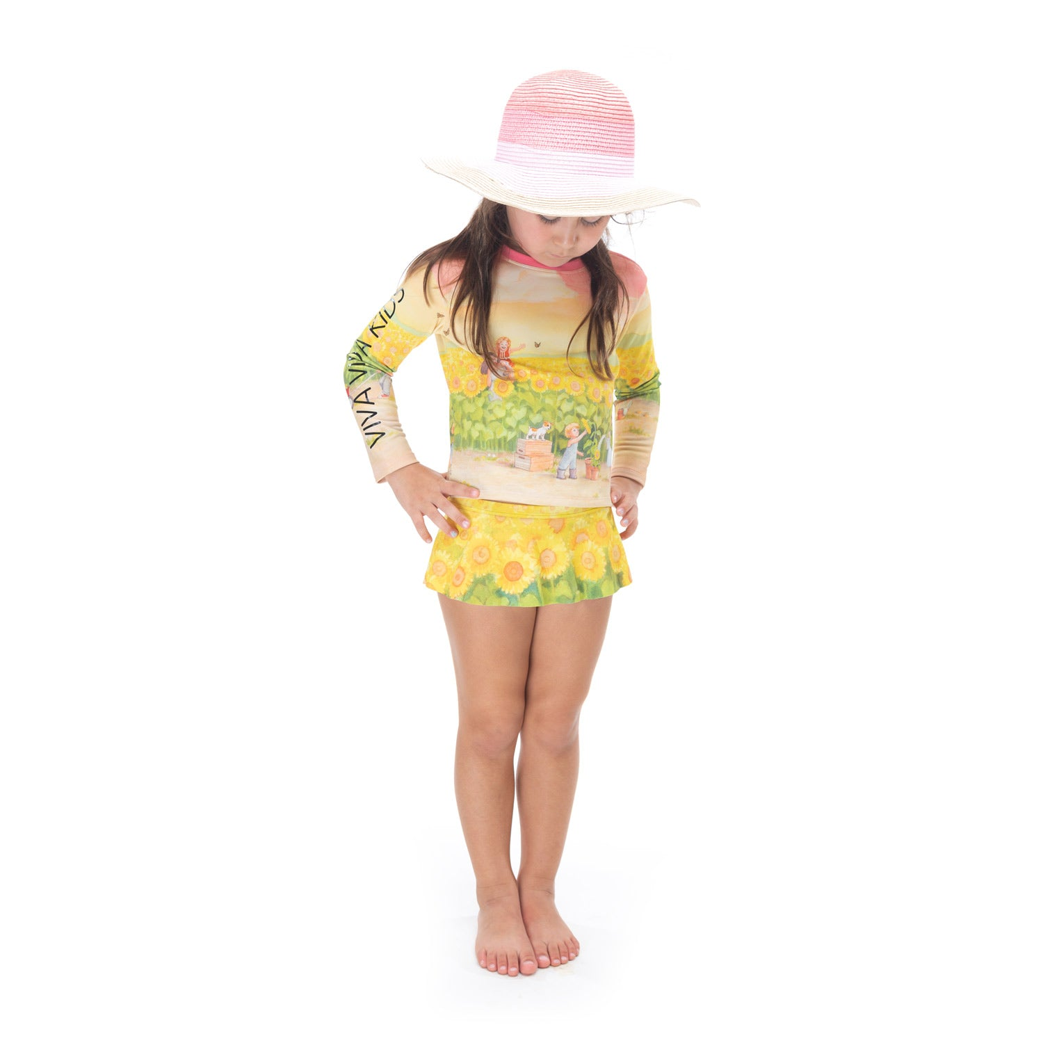 Swim (2pcs) Sunflower