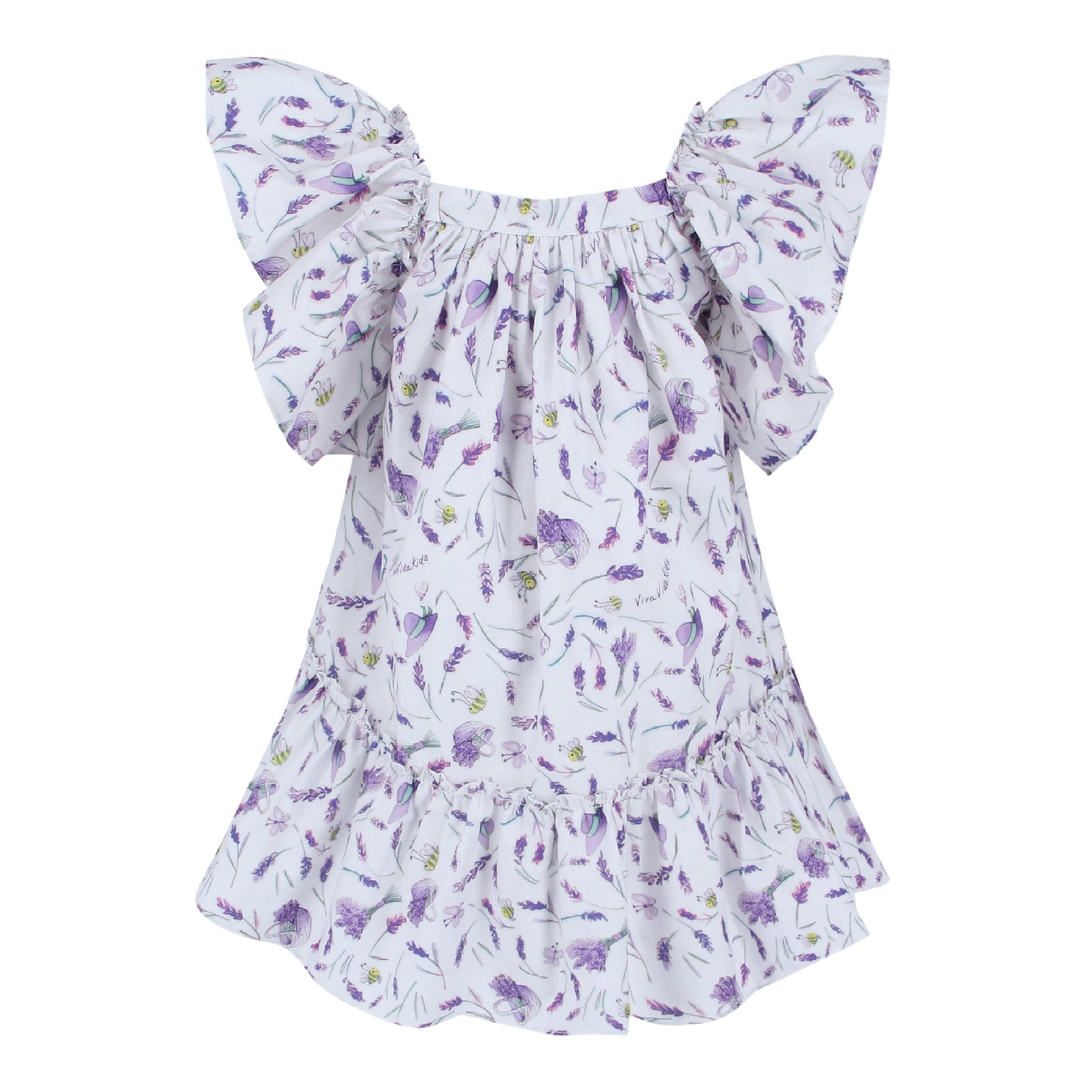 Valentina Dress - Lavender Fields