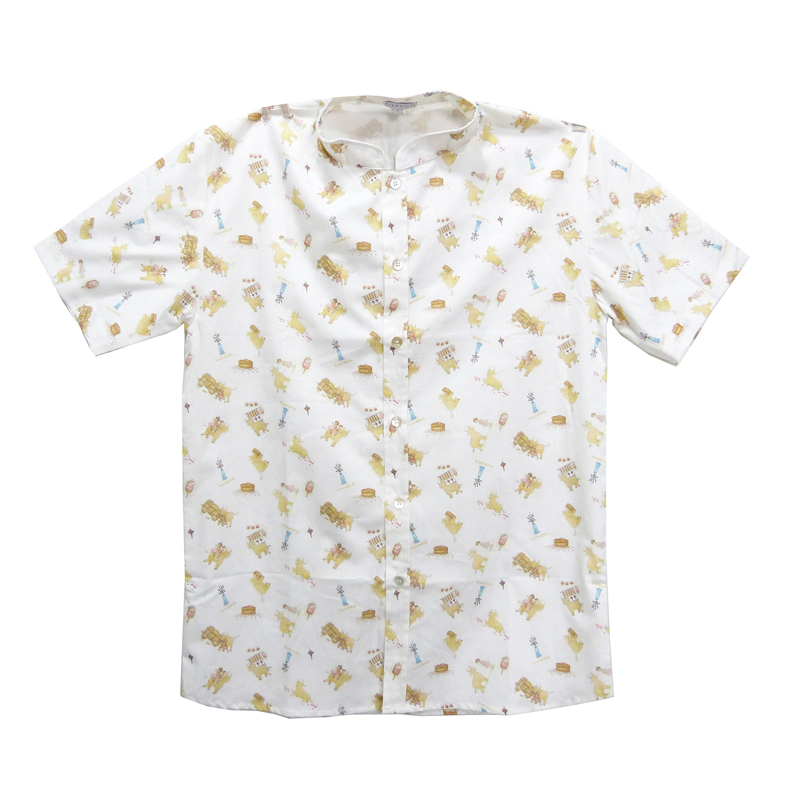 Brad Men's Shirt - White Ox
