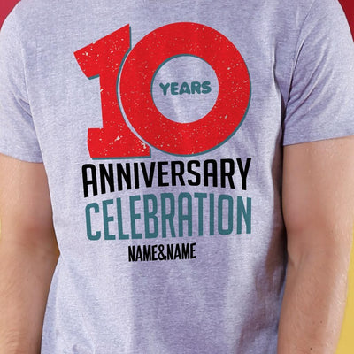 10Th Anniversary Crop Top & Tee