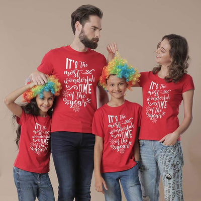The Most Wonderful Time Of The Year, Family Tees