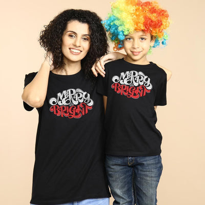Bright And Merry, Mom And Son Tees