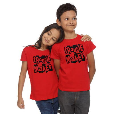 Trouble Makers, Matching Sibling Tees