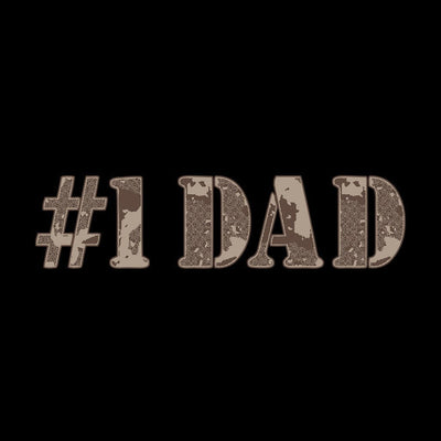 #1 Matching Dad & Daughter Tshirt