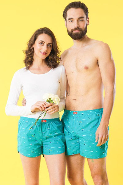 Never Feel Blue,  Matching Couples Boxers