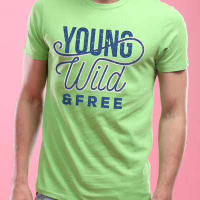 Young, Wild And Free, Matching Couple Tees