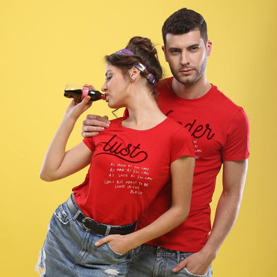 Lust! Matching Couple Tees