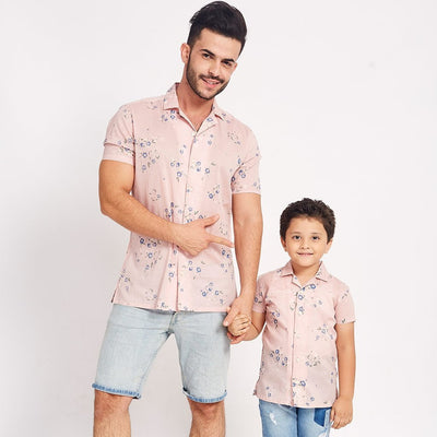 Summer Love, Matching Shirts For Dad And Son