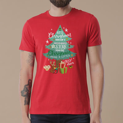 Christmas Means A Little Bit More Dad And Daughter Tees