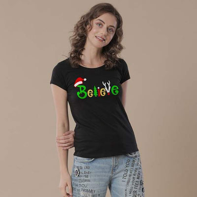Believe, Single Women Tee
