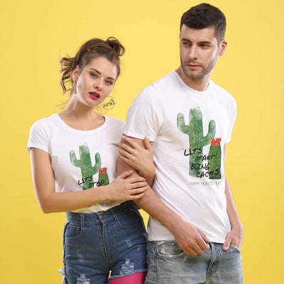 Cactus, Matching Couple Tees