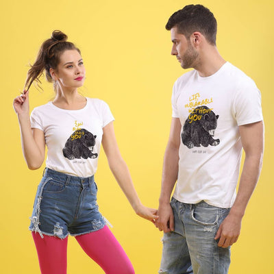 I Can Only Bear You, Matching Couple Tees