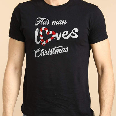 Christmas Love, Single Tees For Men