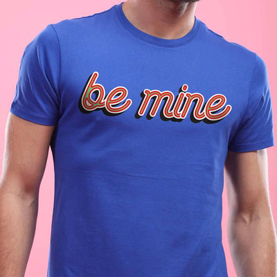 Be Mine Please! (Blue) ,Matching Couple Tees