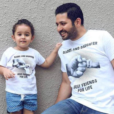 Best friend for life dad & daughter tees