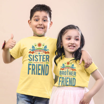 Always A Friend Bro & Sis Tees