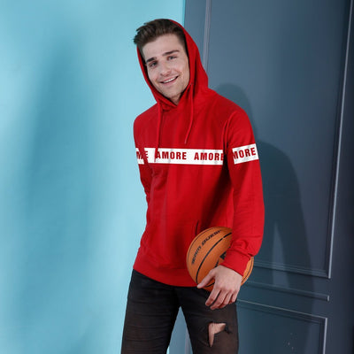 Amore, Matching Hoodie For Men And Crop Hoodie For Women