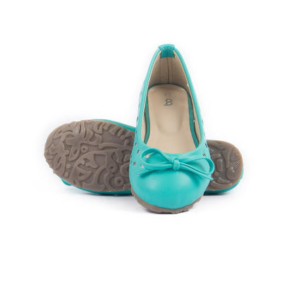 Women's Sea Green Ballerinas