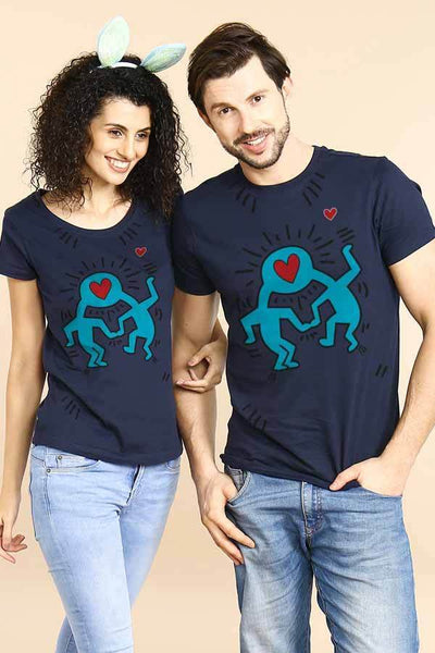 Better Together Heartin Couple Tees
