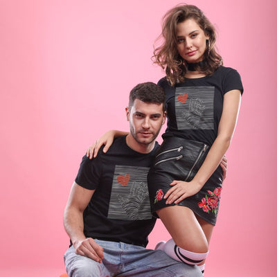 Red Heart , Matching Couple Tees