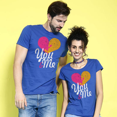 You And Me Matching Couple Tees