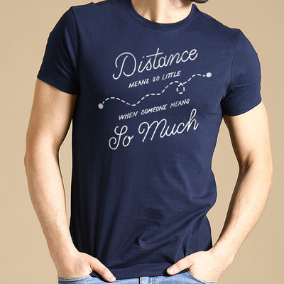 Distance Means Nothing,Matching Couple Tees