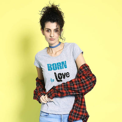 Born To Love, ,Matching Couple Tees