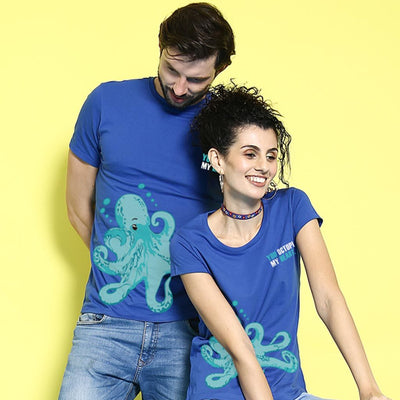 Octopus, Matching Couple Tees